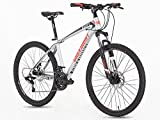 Adult Mountain Bike MTB 21 Speed 26 inches Wheels 16.5 inches Frame Mechanical Disc Brake