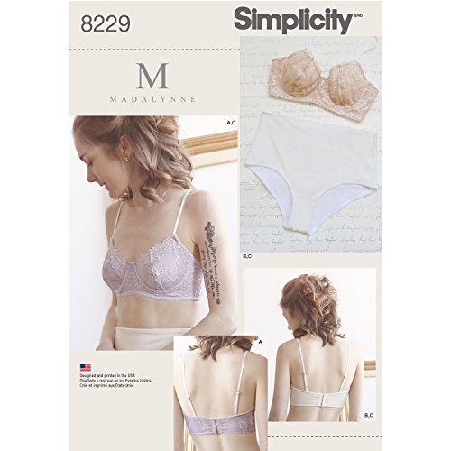 simplicity-8229-patrons-de-soutien-gorge-a-armatures-et-culotte-blanc