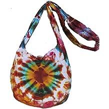 Tie Dye Bags - Bolso cruzados para mujer Naranja naranja H21 xW31 xD18 (drop inc strap 77cm)Aprox