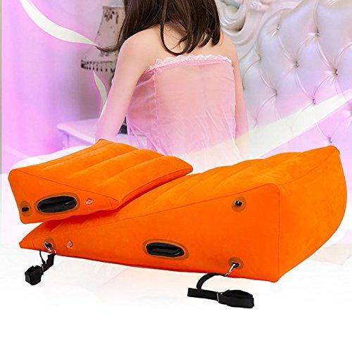 Sex Möbel, Riesige Kombination 34 Zoll / 86 cm Sofa Dreieck Kissen für Paare Position Unterstützung Kissen mit BDSM Handschellen