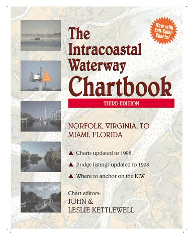 Intracoastal Waterway Chartbook: Norfolk, Virginia, to Miami, Florida por Kettlewell