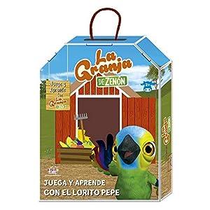 La Granja de Zenón- Juega y aprende con el Lorito Pepe (Bandai EB81203)