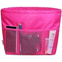 ZYT Interno borsa borse donne borse deposito zip bag trousse grande . rose - Grande Rotonda Borsone