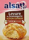 Alsa Levure de Boulangerie Action Express 36 Sachets (Lot de 3x12 Sachets)