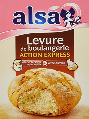 Alsa Levure de Boulangerie Action Express 12 Sachets 66 g - Lot de 3