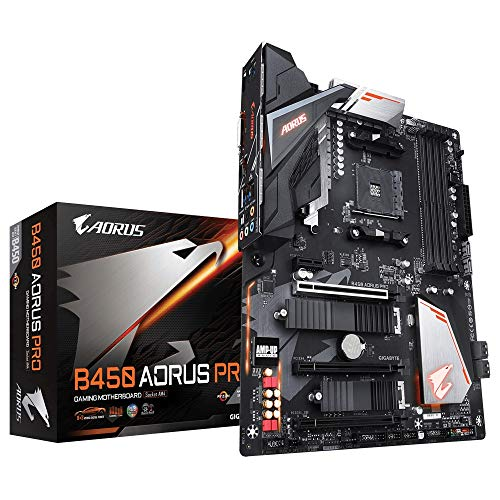 Gigabyte B450 - Placa base AORUS Pro Socket AM4, color negro