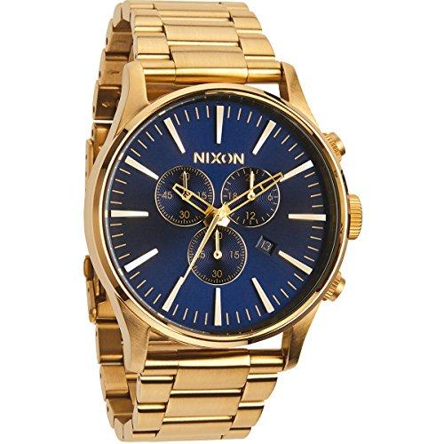 nixon-sentry-chrono-reloj-de-cuarzo-correa-de-acero-inoxidable-color-dorado