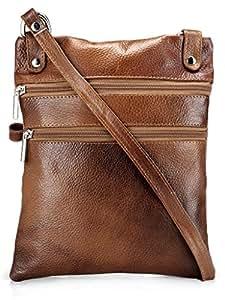 Teakwood Real Leather Messenger Bag