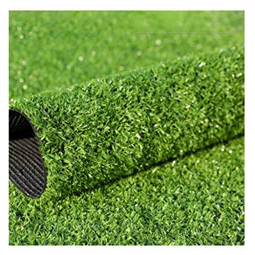YNFNGXU Kunstrasen Gras Höhe 10mm Outdoor Verschlüsselung Kunstrasen Teppich Dach Gartendekoration 2x1m (Size : 2x8m) (Outdoor-gras Dach)