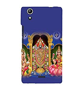 printtech Lord God Hindu Back Case Cover for Micromax Canvas Selfie Lens Q345