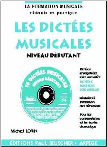 Partition : Dictees musicales avec CD, n...