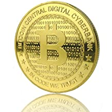 Bitcoin Gold Plated Coin Collectible BTC Coin Art Collection Gift …