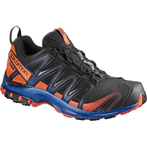 XA Pro 3D GTX® - Chaussures randonnée homme - Noir / Scarlet Ibis / Surf The Web - 48