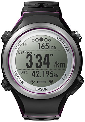 Epson Runsense SF-810V Bluetooth Black,Violet sport watch - sport...