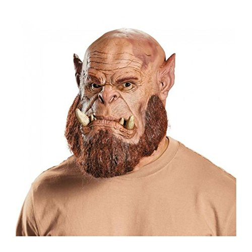 Kostüm Orc Wow - MyPartyShirt Orgrim Deluxe Mask
