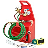 Biltek Professional Portable Torch Kit Oxygen Acetylene Oxy Welding Cutting Victor-Style Tank by Biltek