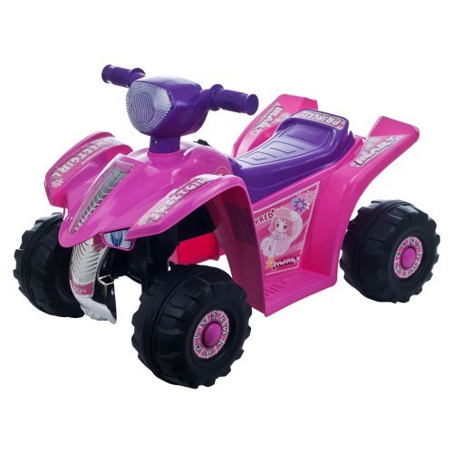 Lil' Rider Princess Mini Quad Four Wheeler Ride-On Car, Pink by Lil' Rider
