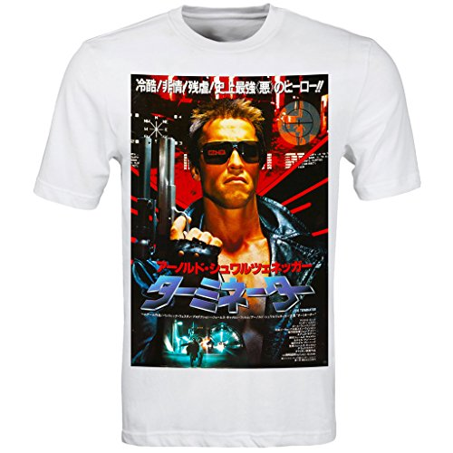 The Terminator Rare Japanese Movie Poster T Shirt