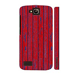 Huawei Honor Holly Red Wall Grafitti designer mobile hard shell case by Enthopia
