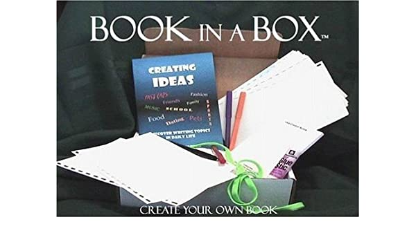 Amazonin Buy Book In A Box Create Your Own Book Book Online At