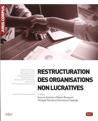 Restructuration des organisations non lucratives par Collectif
