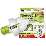 Alpine SleepSoft 2015 Bouchons d\'oreilles pour Dormir + Gratuit Cleaner