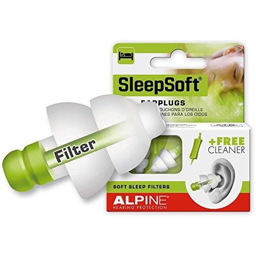 Alpine sleepsoft tappi per orecchie per dormire for Tappi orecchie silicone per dormire