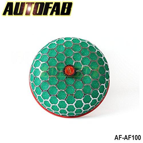 pygex-tm-autofab-universal-air-filter-reiniger-lufteinlass-kit-super-power-flow-100-mm-grun-ay-af-af