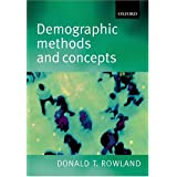 Demographic Methods and Concepts. Mit CD-ROM