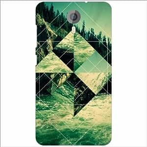 Micromax Canvas Xpress 2 E313 Back Cover - Silicon Abstract Designer Cases