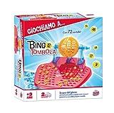 Grandi Giochi GG90000 - Bingo Tombola, 72 Cartelle