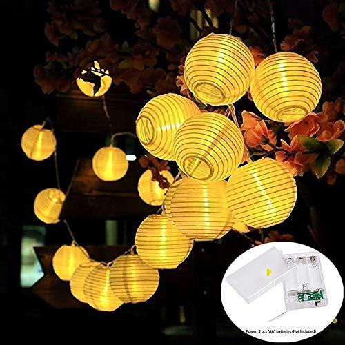 Cadena 20luces LED Batería Alimentado farolillos