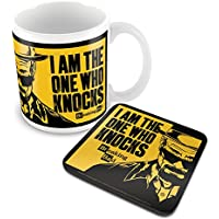 Breaking Bad I Am the One Who Knocks Mug and Coaster Set