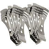 MagiDeal 10pcs Titular de Mecha de Metal Accesorio para Fabricación de Velas de Bricolaje
