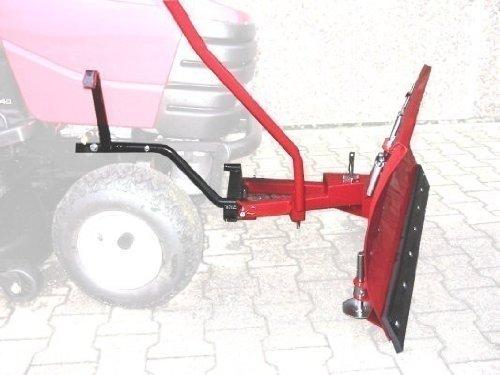 Schneeschild Standard 118x50cm passend Einhell Royal TMH1200 Aufsitzmäher