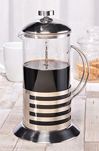 Designer Kaffee- und Teekanne m. Dauerfilter, Faßungsvermögen: 1 Liter (4 Tassen), Maße:23,5 (H) x 13,5 (D) cm