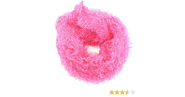 Rjm Girls Fluffy Furry Long Winter Scarf Several Colours Available