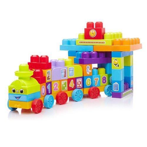 Preisvergleich Produktbild Mattel Mega Bloks First Builders DBL08 123 Zahlen-Zug