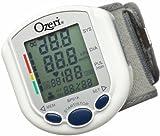 Tensiomètre numérique BP01K d'Ozeri avec indicateur de santé cardiaque et d'hypertension.