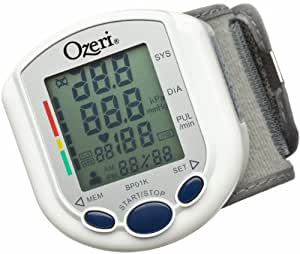 Ozeri CardioTech Pro Series Digital Blood Pressure Monitor with Heart Health WHO Indicator