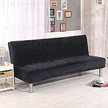 Fastar funda de clic-clac elástica, cubre /protector sofá de 3 plazas,color sólido (Gris(Más grueso))