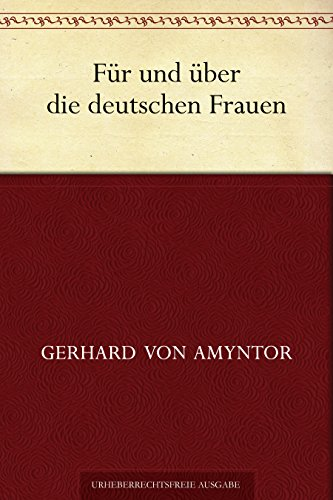 Für und über die deutschen Frauen