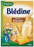 Blédina Blédine Saveur Biscuit à Partir de 6 Mois 500 g - Lot de 6