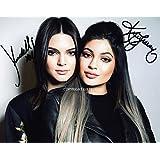 Giftedbox Photo dédicacée Kylie Kendall Jenner avec certificat d'authenticité Édition limitée