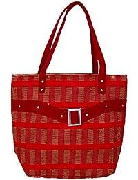 Womaniya Women's Shoulder Bag (Red-Woman-908)