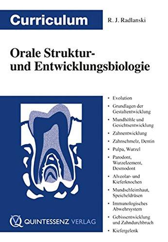 Curriculum Orale Struktur- und Entwicklungsbiologie