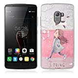 Lenovo K4 Note Hülle, Lenovo Vibe X3 Lite Hülle, Gift_Source [ Feder ] Hülle Case Transparent Weiche Silikon Schutzhülle Handyhülle Schutzhülle Durchsichtig TPU Crystal Clear Case Backcover Bumper Case für Lenovo Vibe K4 Note/A7010 /Vibe X3 Lite 5.5