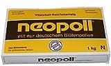 Germerott Bienentechnik 5 x Neopoll 1 kg für die Reizfütterung von Bienen mit Deutschen Pollen Preis Pro kg 5,88 Euro