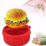 3nh 1Pc Plastic Stuffed Burger Press Hamburger & Patties Maker Hamburger Meat Press