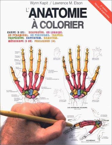 ANATOMIE A COLORIER. 2ème édition
